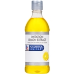 McCormick Imitation 1 Pint Lemon Extract