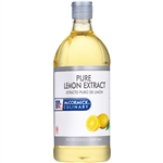 McCormick Pure Lemon Extract 1 Quart