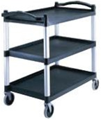 Cambro Casters Cart Utility Speckled Gray 5 in.