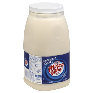 Kraft Nabisco Miracle Whip Dressing Foodservice Label Only - 128 Oz.