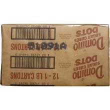 Sugar Packets Dots Sugar Cube Domino - 1 Lb.