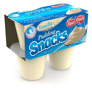Real Fresh Pudding Vanilla Trans Fat Free - 3.5 Oz.