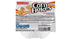 Malt-O-Meal Corn Flakes Single Serve Bowl Cereal 0.75 oz.