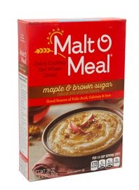 Malt-O-Meal Maple And Brown Sugar Cereal 28 oz.