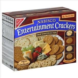 Kraft Nabisco Assorted Entertainment Cracker - 40 Oz.