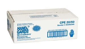 Handgards Quick Serve Microban Glove