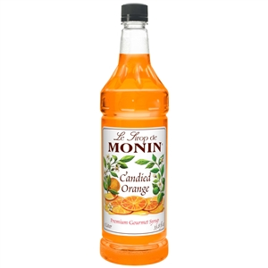 Candied Orange Flavoring Syrup Plastic Bottle - 1 Liter
