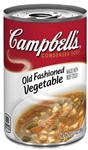 Campbell's Old Fashion Red and White Vegetable Soup 10.5 Oz.