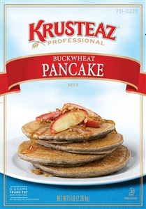 Continental Mills Krusteaz Buck Wheat Pancake Mix - 5 Lb.