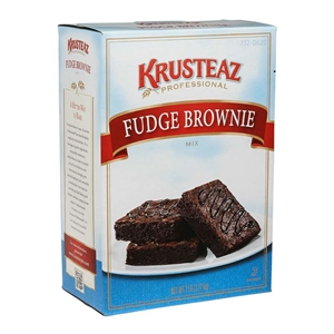 Continental Mills Krusteaz Fudge Brownie Cake Mix - 7 Lb.