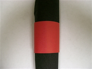 Evergreen Napkin Bands Paper Red - 4.25 in. x 1.5 in.
