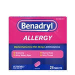 Johnson and Johnson Benadryl Ultratab Tablet