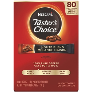 Nestle Tasters Choice Stick Coffee Pack Single Serve - 4.79 Oz.