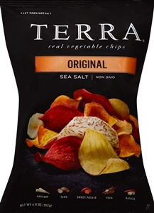 Hain Celestial Original Terra Vegetable Chips - 6.5 Oz.