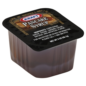 Kraft Nabisco Pancake Syrup Table - 2 Oz.