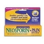 Johnson and Johnson Neosporin Plus Maximum Strength Ointment - 0.5 Oz.