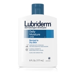 Johnson and Johnson Lubriderm Daily Moisture Lotion - 6 Oz.