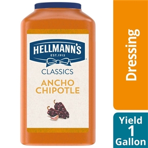 Unilever Best Foods Hellmanns Ancho Chipotle Sandwich Sauce - 1 Gal.