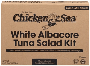 Chicken Of The Sea Premium Tuna Salad Kit White - 78.5 Oz.