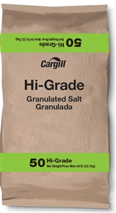 Cargill High Grade Non Iodized Salt 50 Lb.
