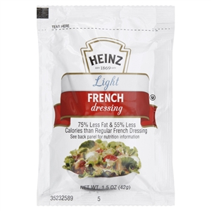 French Light Salad Dressing - 1.5 Oz.