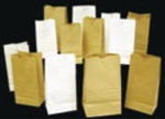 AJM Natural Kraft 5 lb. Grocery Paper Bag