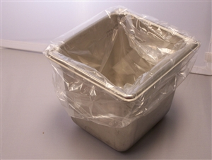 M and Q Packaging Corp Sixth Ovenable 13 in. x 14 in. Pan Liner