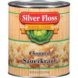 Great Lakes Silver Floss Chopped Sauerkraut