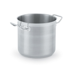 Vollrath Optico Stainless Steel Stock Pot Pan With Cover - 9.5 in.