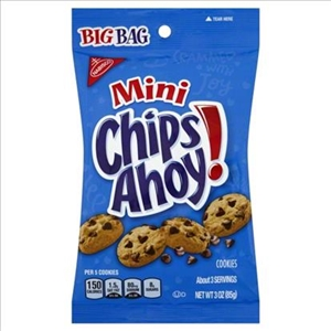 Snack Chips Ahoy Mini Big Bag - 3 Oz.