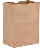Narrow Base Kraft Bag