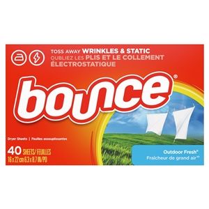 Bounce Fabric Softener Sheet
