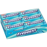 Wrigleys Freedent Spearmint Bubble Gum Plenty Pack