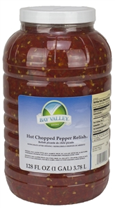 Bay Valley Premium Hot 1 Gallon Pepper Relish
