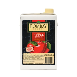 Clement Pappas Bombay Apple Juice - 46 Oz.