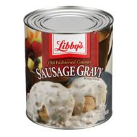 Conagra Libbys Old Fashioned Country Sausage Gravy - 106 Oz.
