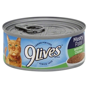 9 Lives Chicken Dinner - 5.5 oz.