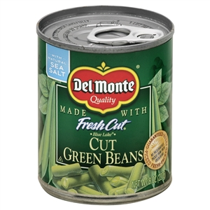 Delmonte Cuts Easy Open Green Bean - 8 oz.