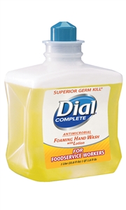 Dial Complete Antimicrobial Foaming Soap - 1 Liter