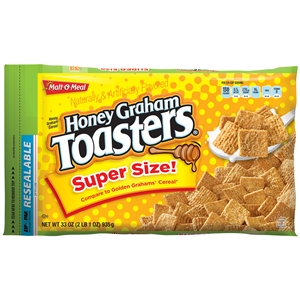 Malt-O-Meal Honey Graham Squares 33 oz. Cereal