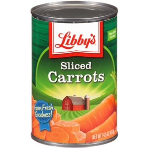 Seneca Libbys Medium Sliced Carrots - 14.5 Oz.