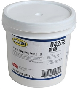 Allen JWA Filling White Dipping Icing - 23 Pound