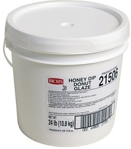Rich Honey Dip Donut Glaze - 24 Lb.