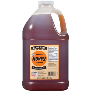 Busy Bee Light Amber Honey Handle Jug - 192 Oz.