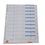 National Checking Carbonless 4 Part Delivery Form White 10 Line - 9.25 in. x 11 in.