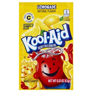 Kraft Nabisco Kool Aid Lemonade Beverage - 0.23 Oz.
