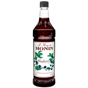 Monin Blueberry Flavor Syrup - 1 Liter