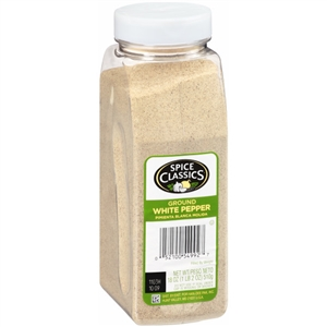McCormick Spice Classics 18 oz. Ground White Pepper