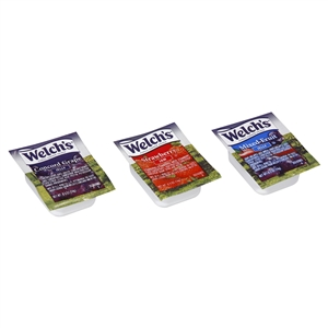Portion Pac Welchs Jelly Assorted 0.5 Oz.