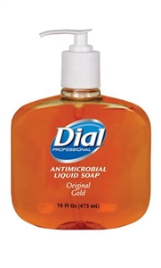 Antimicrobial Gold Hand Soap Liquid - 8.5 Oz.